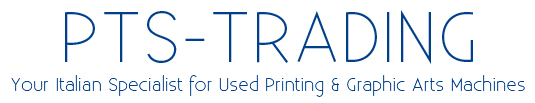 Your Italian Specialist for Used Printing & Graphic Arts Machines